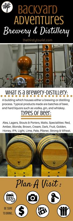 The Thirsty Tourist's Backyard Adventure Crib Sheet for Visiting a Brewery-Distillery. TheThirstyTourist.com