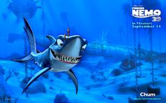 Anchor is a Hammerhead Shark that has a 360 degree Vision: Finding Nemo Disney Pixar, Disney And Dreamworks, Disney Cars, Pixar Movies, Cartoon Movies, Cartoon People, Cartoon Characters, Computer Wallpaper, Wallpaper Backgrounds