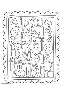 Alphabet name hunt. Could also use for sight words. Beginning Of The School Year, 1st Day Of School, School Fun, Back To School, School Week, Middle School, High School, Preschool Names, Alphabet Activities