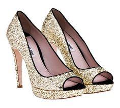 Tendencias: zapatos con glitters para invitadas a una boda