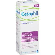 EWG rating for Cetaphil Dermacontrol Oil Control Moisturizer, SPF 30   EWG's 2015 Guide to Sunscreens