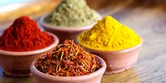 Various aromatic spices