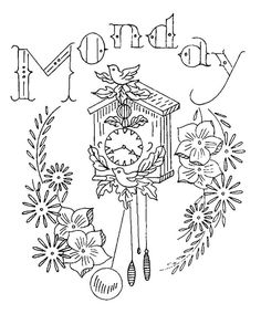 Tons of Vintage Embroidery Patterns!