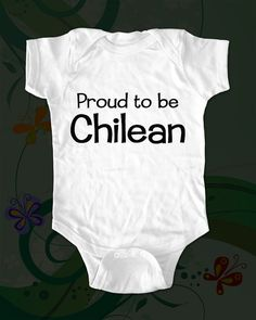 to go with the lincoln onesie-- a chilean onesie. via etsy $15