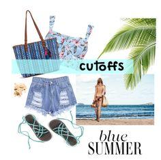 """""""Cuttofs Denim"""" by out-of-styles on Polyvore featuring Mode, Bobbi Brown Cosmetics, Summer, denim, DENIMCUTOFFS und cutoffs"""