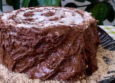 Торт «Трухлявый пень» с вареньем
