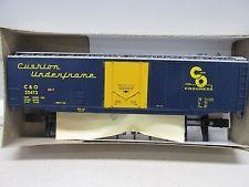 ATHEARN ~ BEV-BEL CHESAPEAKE & OHIO CHESSIE 50' S/S PLUG-DOOR  BOX CAR  ~ HO