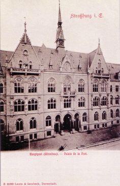 Archives Strasbourg. Poste avenue de la marseillaise.