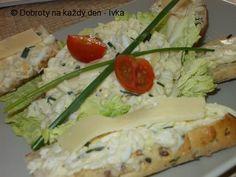 Pórková pomazánka se sýrem a jablky Meat, Chicken, Food, Essen, Meals, Yemek, Eten, Cubs