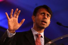 Gov. Bobby Jindal speaking at the Republican Leadership Conference. Hey Jindal deep down inside the right doesn't even like you. P.S. you'll never be white! Sorry 'bout it. DB!
