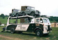 1950 Leyland Beaver - Land Rover Transporter