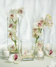 Clear Square Vase Wedding Table Decoration Set Of 3 Alice Petersen 50th Anniversary Ideas Color Schemes