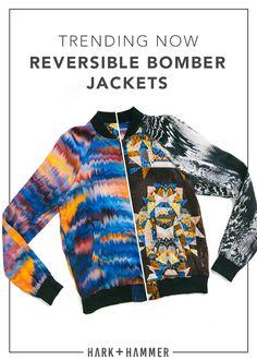 b071b677b02a TRENDING NOW the reversible bomber Silk Bomber Jacket, Silk Charmeuse,  Mixing Prints, Wardrobe