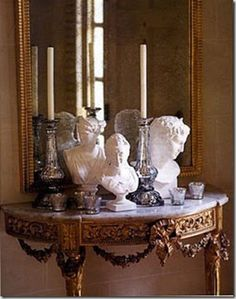 Antique French Louis XVI Style ~ so Neoclassical...