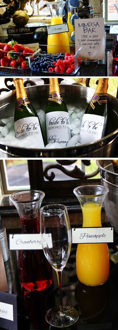 Wedding Mimosa Bar