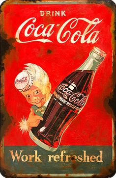 The best drink in town. Propaganda Coca Cola, Coca Cola Poster, Coca Cola Ad, World Of Coca Cola, Coca Cola Bottles, Vintage Coca Cola, Vintage Advertisements, Vintage Ads, Festival Posters