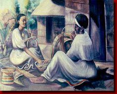 "Ethioopian ""Basket Making"" by Belatchew, 1968 Women: Creators of Beauty and Creations of Beauty History Of Ethiopia, Ethiopian People, Basket Drawing, Africa Art, Abyssinian, Woman Drawing, Bible Art, Coffee Art, Woman Painting"