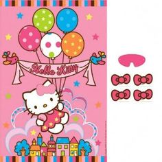 Shop for Hello Kitty party supplies, birthday decorations, party favors, and more. Baseball Birthday Party, 6th Birthday Parties, Birthday Party Favors, Birthday Ideas, Hello Kitty Party Supplies, Hello Kitty Themes, Kitty Party Games, Cat Party, Anniversaire Hello Kitty