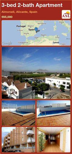 3-bed 2-bath Apartment in Almoradi, Alicante, Spain ►€65,000 #PropertyForSaleInSpain