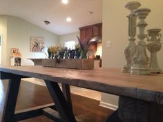 Reclaimed Beam Table