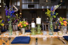 Bursts of color in this beautiful #mountainwedding at the TenMile Station in Breckenridge, Colorado.  http://www.iconicweddings.com/destinations/breckenridge.aspx