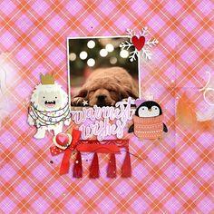 MCO_LilBoo Girl Inspiration, Creative Inspiration, My Scrapbook, Digital Scrapbooking, The Dreamers, Happy, Layouts, Fun, Christmas