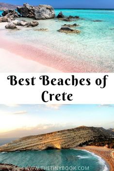Summer Holidays in Crete: When it comes to summer, you are never short of beaches to visit in Crete There're over a thousand stunning shores, some of them famous, some of them very well hidden. Discover the best Crete's beaches Mykonos Greece, Crete Greece, Santorini, Athens Greece, Beautiful Places To Visit, Cool Places To Visit, Crete Beaches, Crete Holiday, Greece