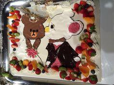 ウエディング二次会ケーキ