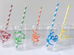 Fiesta de Angry Birds Angry aves tazas fiestas favores de