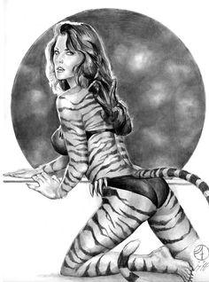 Tigra by jfife.deviantart.com on @deviantART