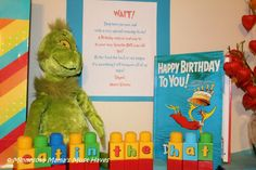 Free Dr. Seuss printables and fonts