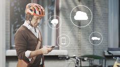 El casco inteligente de Volvo usa la nube para proteger a ciclistas - Neoteo