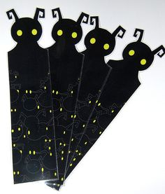 Kingdom Hearts Heartless Bookmark by knil on Etsy, $3.50