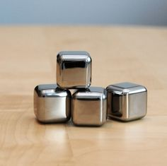 Steel Ice Cubes - Cool Material
