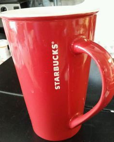 Starbucks mug 22oz RED  #Starbucks