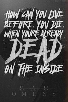 Band Quotes, Lyric Quotes, Qoutes, More Lyrics, Music Lyrics, Amity Affliction Lyrics, Punk Rock Quotes, Happier Lyrics, Bad Things Lyrics