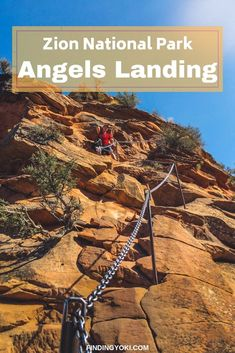 Here is everything you need to know befire hiking Angels Landing in Zion National Park. I promise you will have an amazing experience!  #UnitedStates #America#ZionNationalPark #AngelsLanding