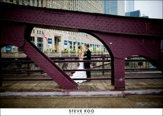 Chicago Bridge : Chicago Wedding Photo Locations