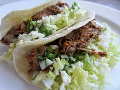 I could eat Shredded Beef tacos everyday, (sigh!)