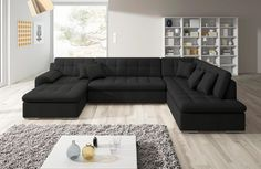 The 11 Best Design Ecksofa Schwarz Moderne Eckcouch Images On