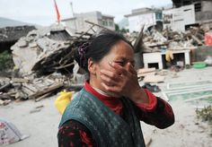 http://news.nationalgeographic.com/news/2013/04/pictures/130420-earthquake-strikes-china-sichuan-province/   This shows a wen breaking down over all the destruction caused by the earthquake in china. Some might say they are being insensitive for taking this picture.