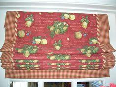 Roman shade with perimeter banding and inset bias trim. Judy Peters, Palmetto Drapery, LLC, Anderson, SC.  www.palmettodrapery.com