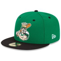 Clinton LumberKings Authentic Alternate 1 Fitted Cap $29.99 #Mariners