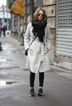 Fashion and style: Grey and black
