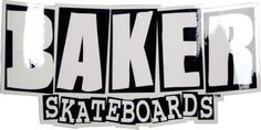 Baker Brand Logo Md Decal Single Assorted Colors