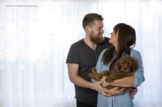 A Couple Did A Newborn Photo Shoot With Their Dog To Stop People Asking About Babies - BuzzFeed News