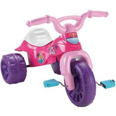 Check Fisher-Price Barbie Tough Trike at 10 Best Rated Pink Tricycles for 9 Month to 2 Year Old and Above Toddler Girls Gifts For 3 Year Old Girls, 2 Year Old Girl, Kids Ride On Toys, Toys For Girls, Kids Trike, Top Toys, Outdoor Toys, Toddler Toys, Toddler Girls