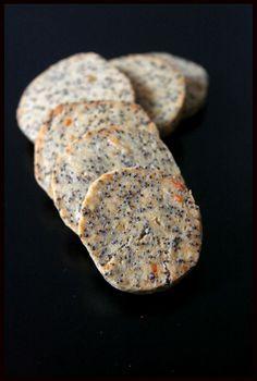 Biscuits au parmesan et graines de pavot