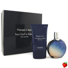 Van Cleef & Arpels Midnight In Paris Coffret: Eau De Toilette Spray 125ml/4.2oz + After Shave Balm 100ml/3.3oz 2pcs #VanCleef&Arpels #Perfume #MensSets #MensGift #StrawberryNET