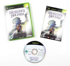 Microsoft Xbox  Lemony Snicket - Rätselhafte Ereignisse für X-BOX in OVP!